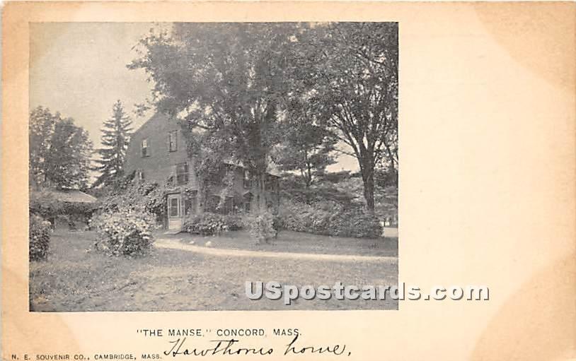 The Manse - Concord, Massachusetts MA Postcard