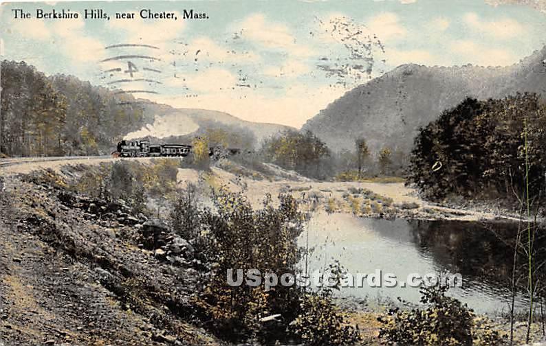 The Berkshire Hills - Chelsea, Massachusetts MA Postcard