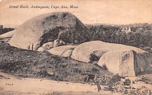 Great Rock Cape Ann, Massachusetts Postcard