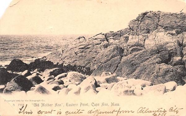 Old Mother Ann Cape Ann, Massachusetts Postcard