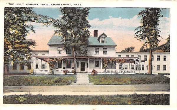 The Inn Charlemont, Massachusetts Postcard