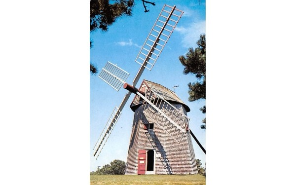 Grist Mill Chatham, Massachusetts Postcard