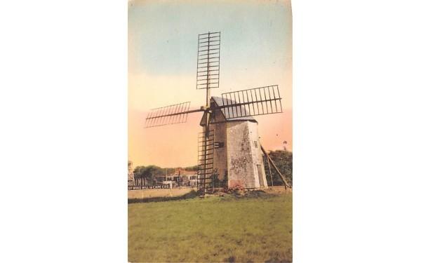 The Oldest Windmill on Cape Cod Chatham, Massachusetts Postcard