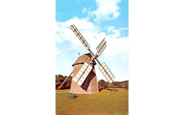 Old Grist Mill Chatham, Massachusetts Postcard
