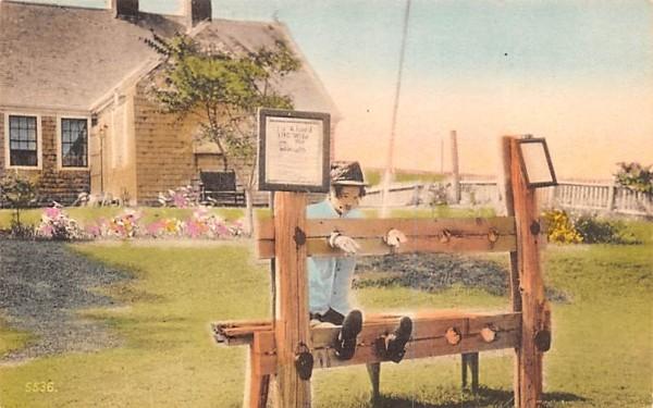 The Conquest Antique Chatham, Massachusetts Postcard