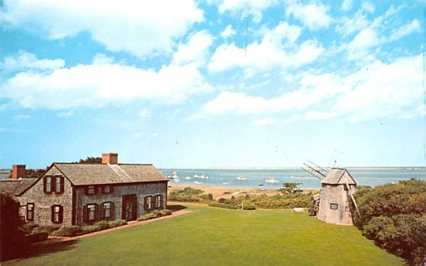 A View from Shore Road Chatham, Massachusetts Postcard