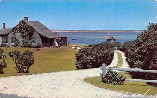Picuresque Wind Mill Chatham, Massachusetts Postcard