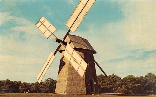 Chatham's Old Grist Mill Massachusetts Postcard