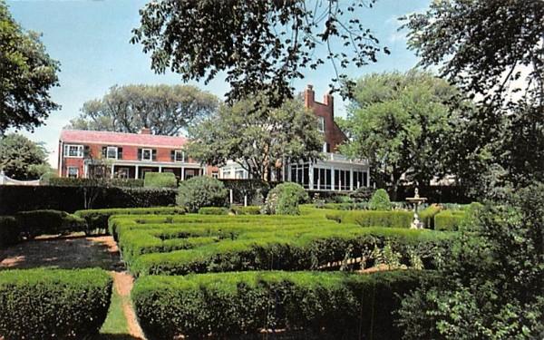 A Captain's Home Chatham, Massachusetts Postcard