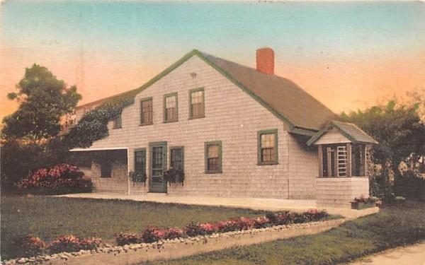 Old House & Well Chatham, Massachusetts Postcard