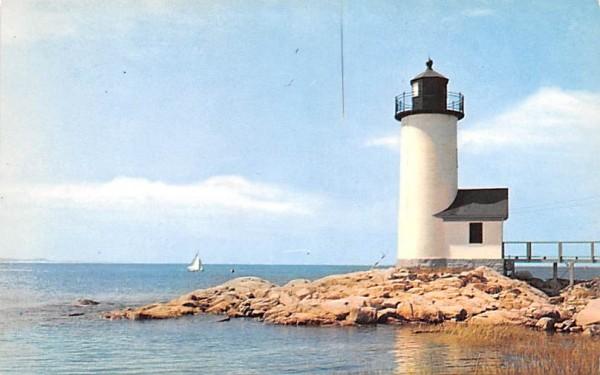 Annisquam Lighthouse Cape Ann, Massachusetts Postcard