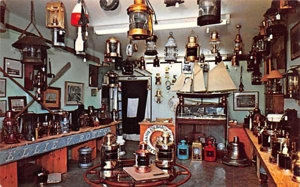 Marine Antiques & Specialties Chatham, Massachusetts Postcard