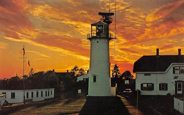 Chatham Lighthouse Massachusetts Postcard