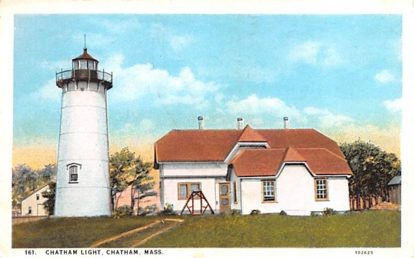 Chatham Light Massachusetts Postcard