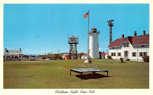 Chatham Ligh Massachusetts Postcard