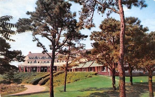 Famous Chatham Bars Inn & Cottages Massachusetts Postcard