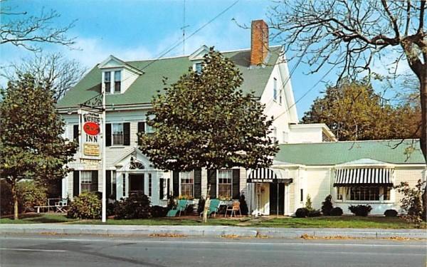 Chatham Wayside Inn Massachusetts Postcard