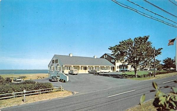 Hawthorne Motel Chatham, Massachusetts Postcard