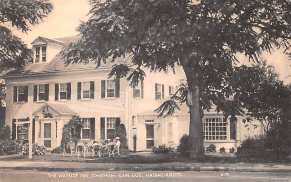 The Wayside Inn Chatham, Massachusetts Postcard