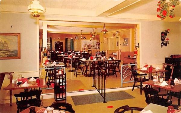The Captain's Table Chatham, Massachusetts Postcard