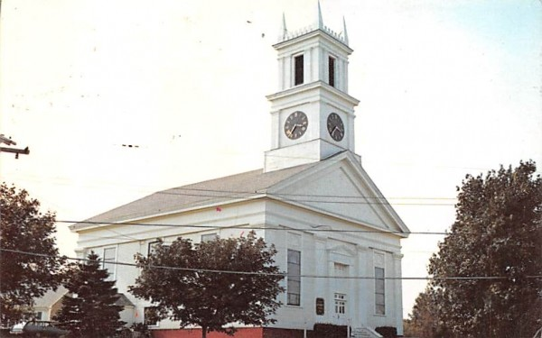 First Methodist Chruch Chatham, Massachusetts Postcard