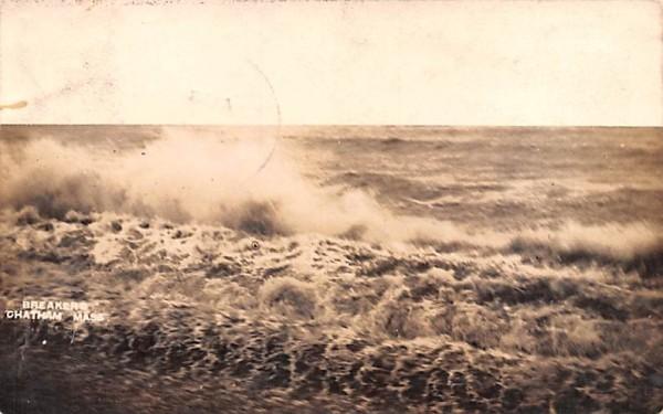 Breakers Chatham, Massachusetts Postcard