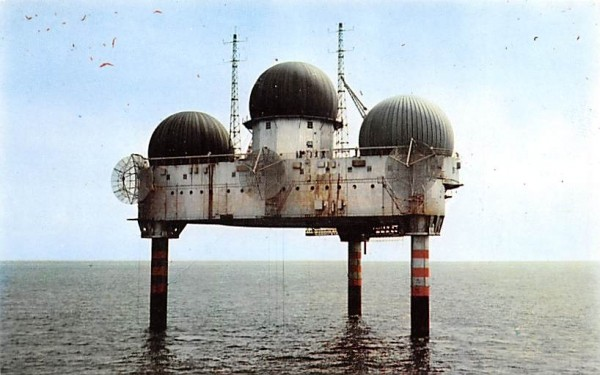 The Texas Tower Chatham, Massachusetts Postcard