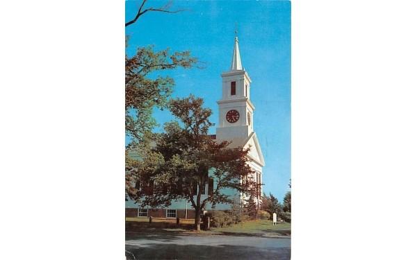 Congregational Church Centerville, Massachusetts Postcard