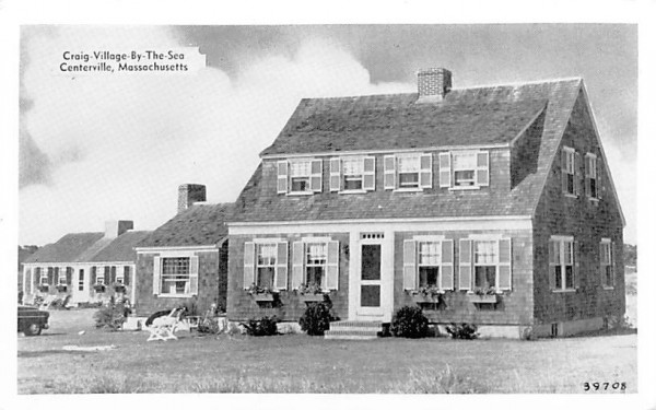 Craig-Village-By-The-Sea Centerville, Massachusetts Postcard