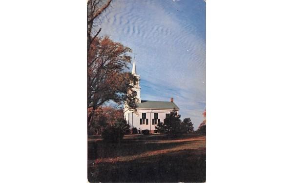 White Village Church Centerville, Massachusetts Postcard