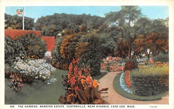 The Gardens Centerville, Massachusetts Postcard