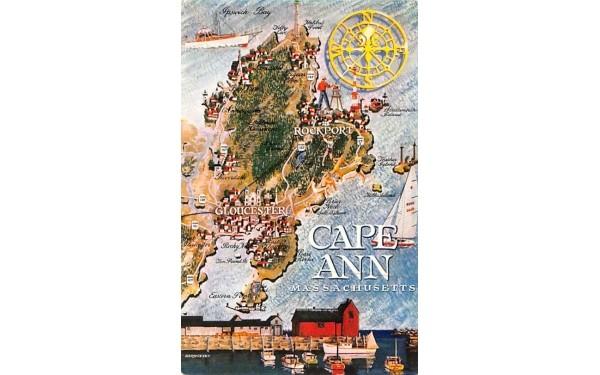 Cape Ann Massachusetts Postcard