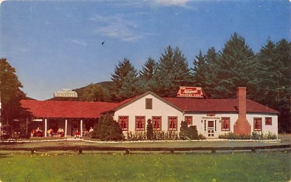 Gift Shop, Cocktail Lounge, & Dining Room Charlemont, Massachusetts Postcard