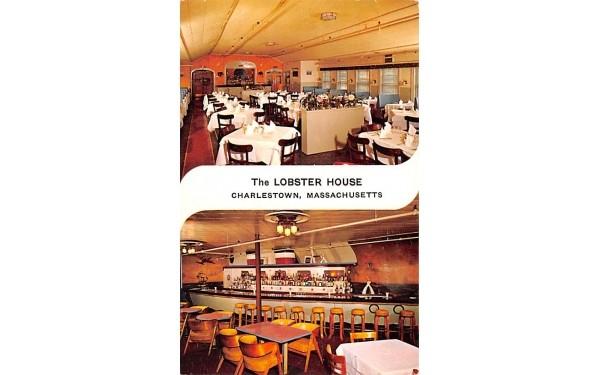 The Lobster House Charlestown, Massachusetts Postcard