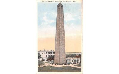 Bunker Hill Monument Charlestown, Massachusetts Postcard
