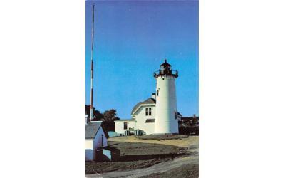 A Cape Cod Lighthouse Chatham, Massachusetts Postcard