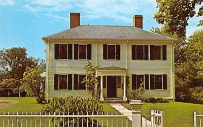 Emerson House Concord, Massachusetts Postcard