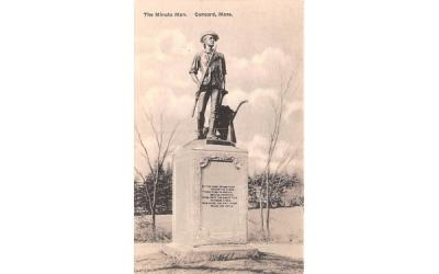 The Minute Man Concord, Massachusetts Postcard