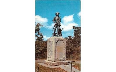 The Minutemen Concord, Massachusetts Postcard