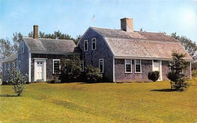 The Old Atwood House Chatham, Massachusetts Postcard