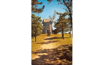 The Old Grist Mill Chatham, Massachusetts Postcard