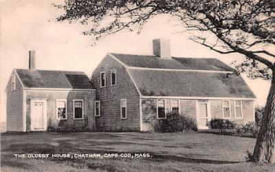 The Oldest House Chatham, Massachusetts Postcard