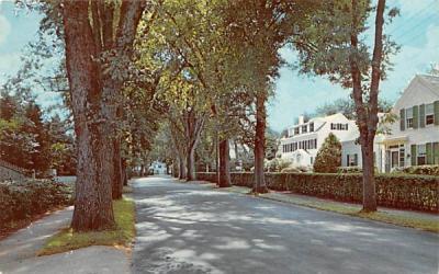 Main Street Centerville, Massachusetts Postcard