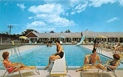 The Craigville Motel Centerville, Massachusetts Postcard