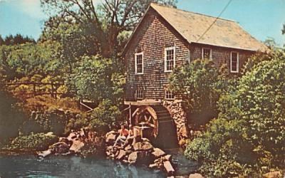 The Old Mill at Brewster Cape Cod, Massachusetts Postcard