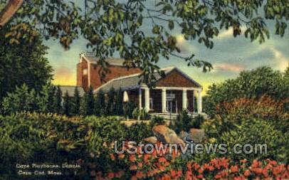 Cape Playhouse, Dennis - Cape Cod, Massachusetts MA Postcard