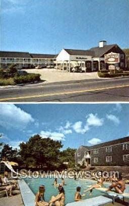 The Huntsman Motor Lodge - Cape Cod, Massachusetts MA Postcard