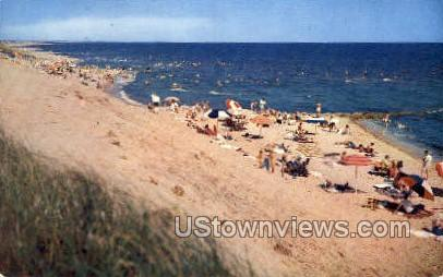 Dennis Municipal Beach - Cape Cod, Massachusetts MA Postcard