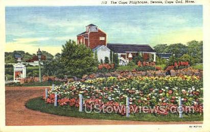 The Cape Playhouse, Dennis - Cape Cod, Massachusetts MA Postcard