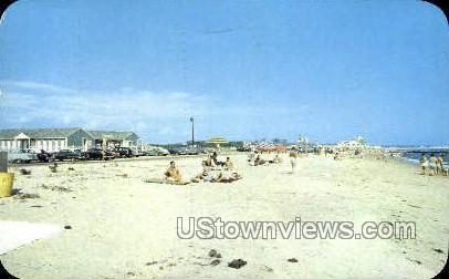 Town Beach, West Dennis - Cape Cod, Massachusetts MA Postcard